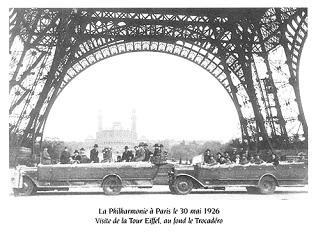 La Philharmonie à Paris en 1926