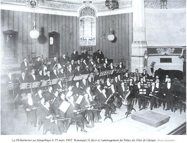 La Philharmonie en 1907